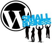 WordPress is ideal for Small Businesses